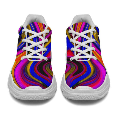 Psychedelic Abstract Chunky Sneaker