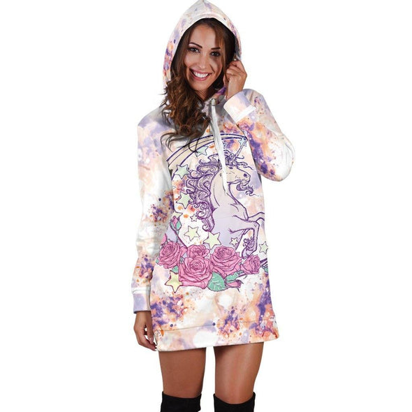 Unicorn Hooded Dress