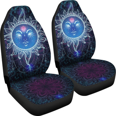 Premium Sun Mandala Car Seat Covers