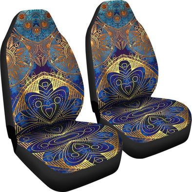 Fractal Mandala Car Seat Covers