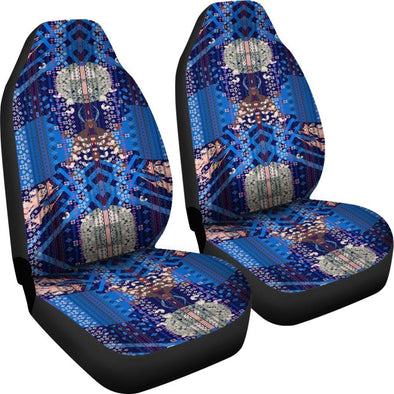 Boho Ethnic Abstract Art Car Seat Covers