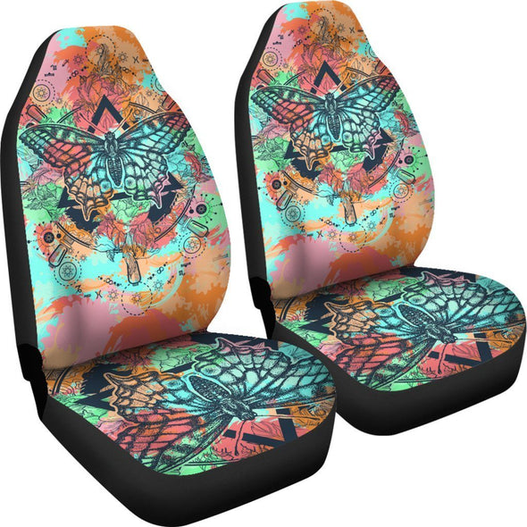 Colorful Butterfly Car Seat Covers