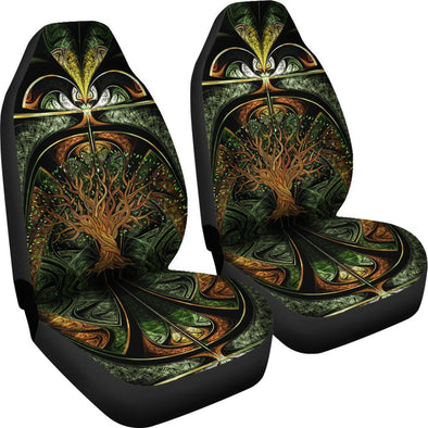 Premium Mystical Tree Of Life Car Seat Covers