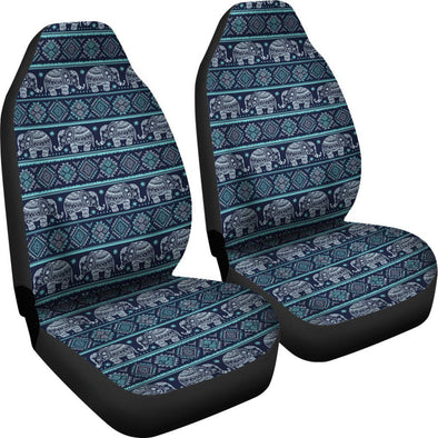 Ethnic Elephant Car Seat Covers