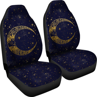 Gold Moon Car Seat Covers