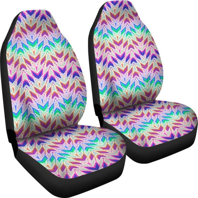 Symmetrical Boho Car Seat Covers