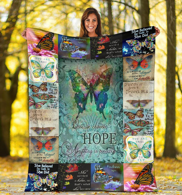 Butterflies Blanket