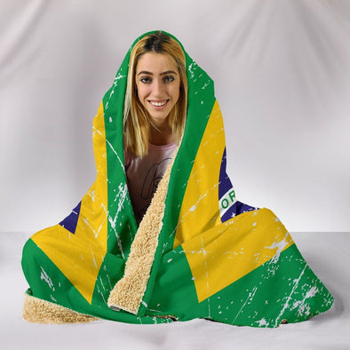 Brazil Hooded Blanket
