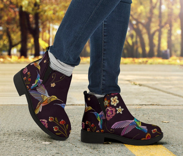 HandCrafted HummingBird Booties