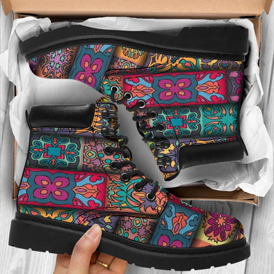 HandCrafted Colorful Boho Performance Boots