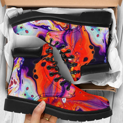 Colorful Abstract Performance Boots