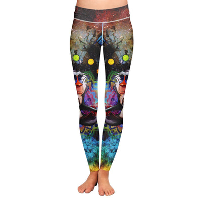 Meditating Rafiki Leggings