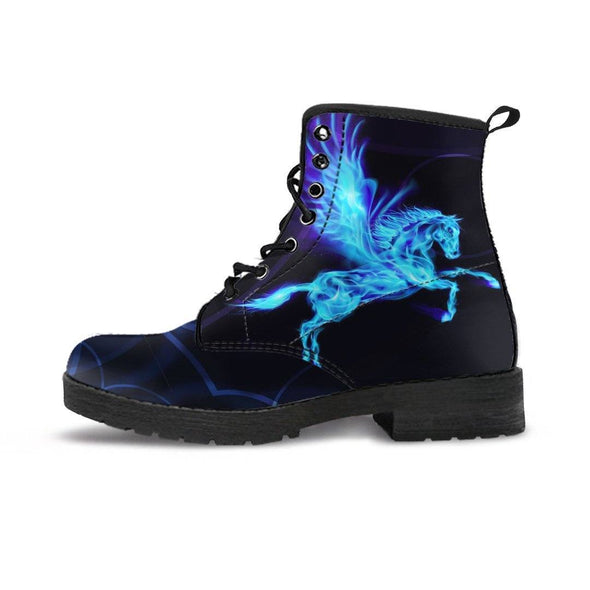 Handcrafted Pegasus Boots.