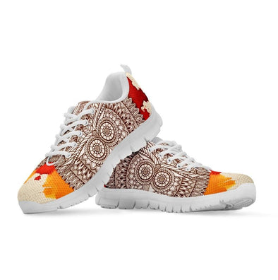 Decorative Owl Sneakers
