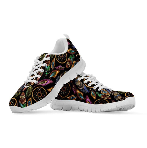 Boho Tribal Dream Catcher Feathers Sneakers