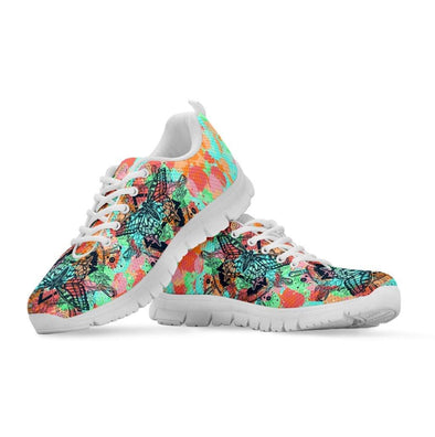 Colorful Flower Butterfly Sneakers