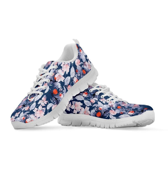 Ethnic Boho Vivid Flowers Sneakers