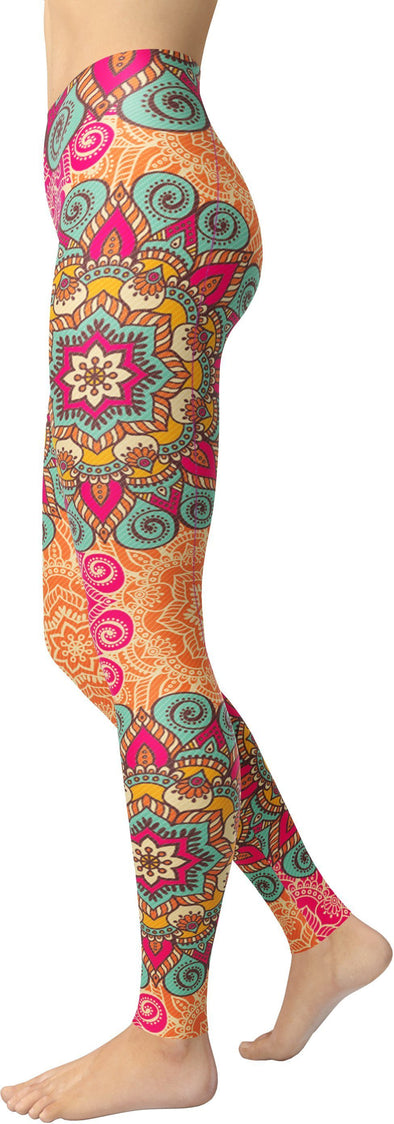 Bohemian Mandala Leggings