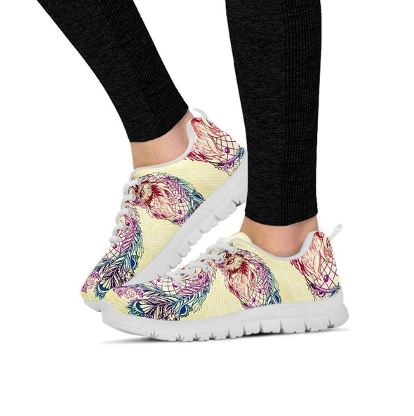 Colorful Owl Sneakers
