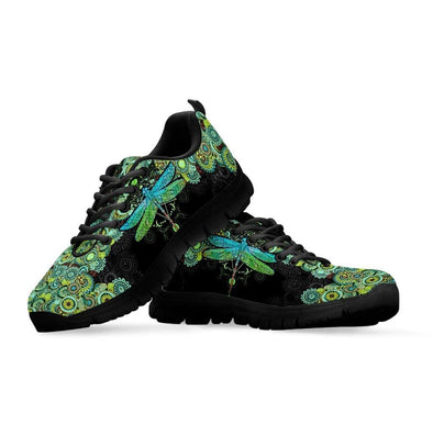 Limited Time 60% Mandala Dragonfly Handcrafted Sneakers .