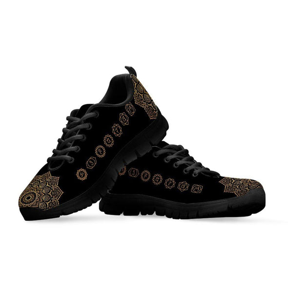 Limited Time 60% Gold Mandala Chakra Handcrafted Sneakers