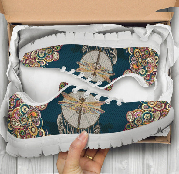 Paisley Dreamcatcher Dragonfly Sneakers
