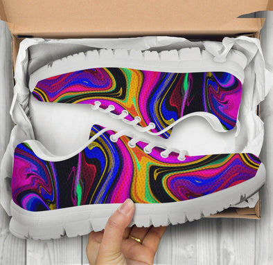 Limited Time 60% Colorful Psychedelic Abstract Handcrafted Sneakers
