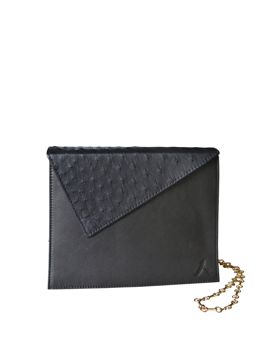 The A Clutch Luxury Women's Designer Italian Leather Handmade in LA