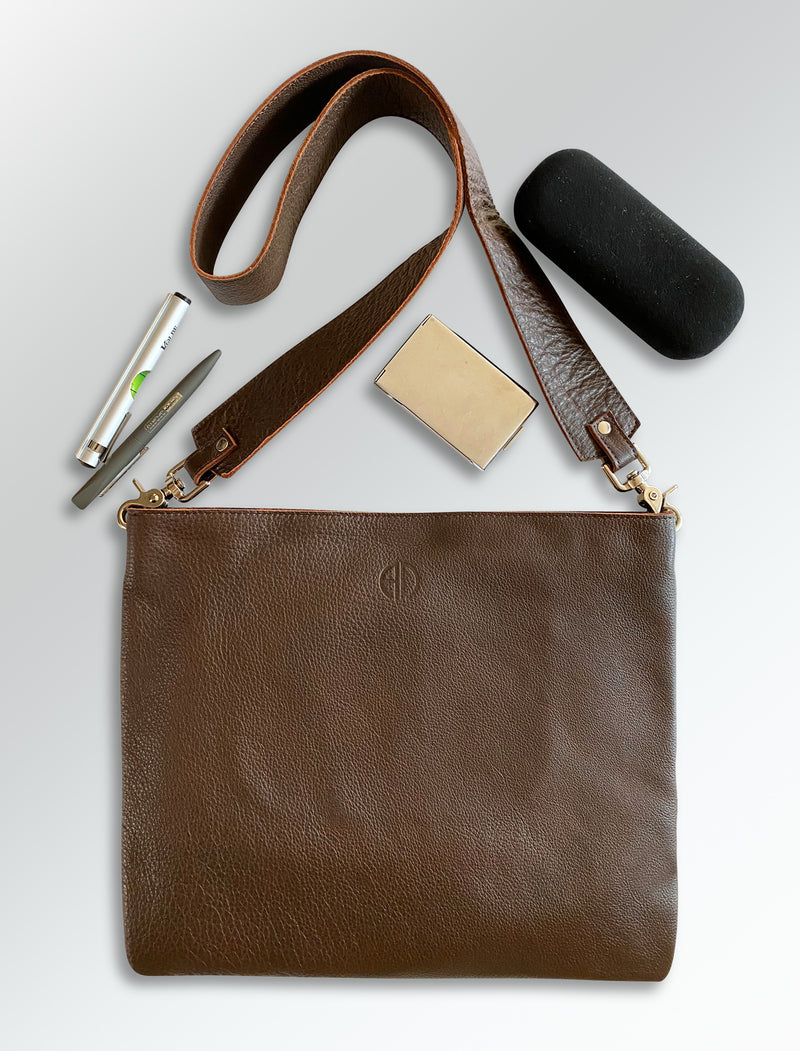ALODIE CROSSBODY LEATHER BAG