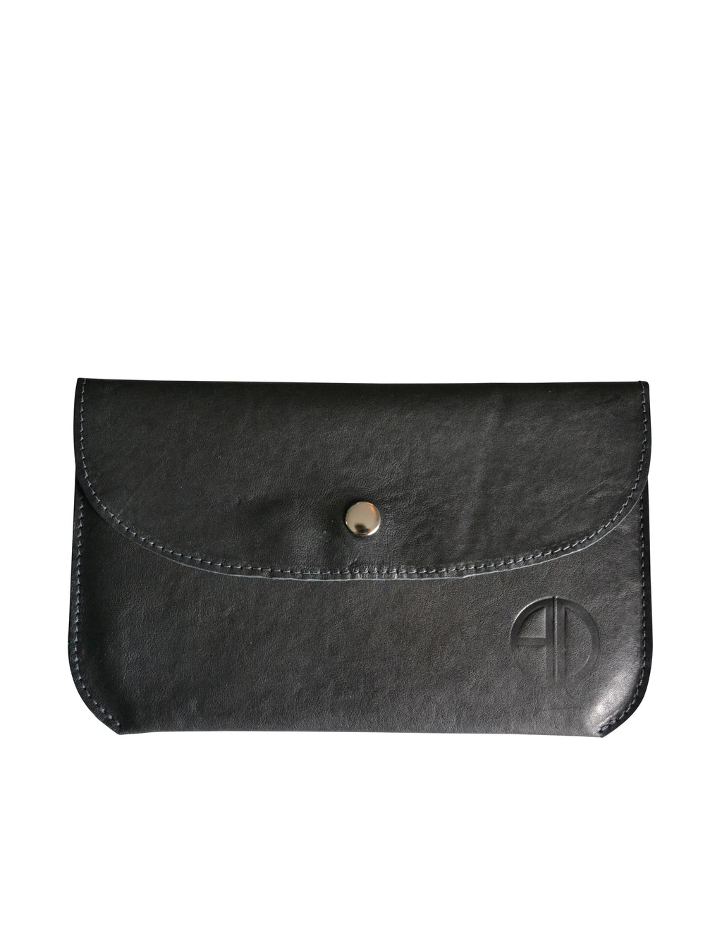 The Pouch Italian Black Leather | ALICIA DAKTERIS