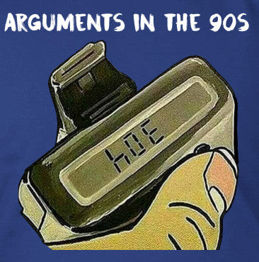 Arguments in the 90s