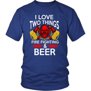 Fire Fighting and Beer