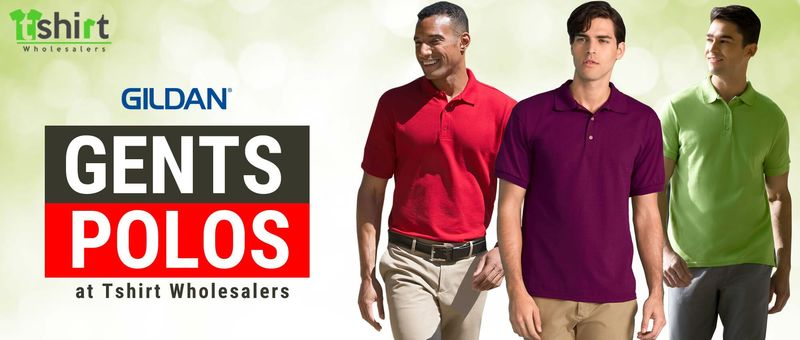 Gildan Gents Polos at Tshirt Wholesalers