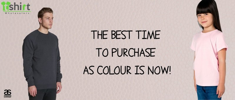 The Best Time to Purchase AS Colour is Now!