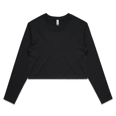 Ascolor Wo's Crop L/S Tee  (4058)