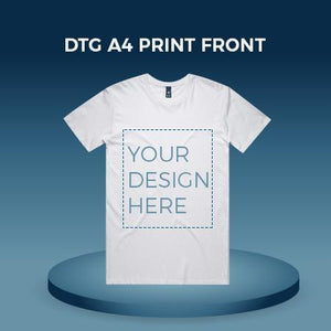 DTG A4 Print-Front