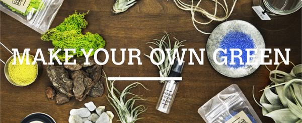 Make your own green. Urban Green Makers mission is to add more green into the environment.