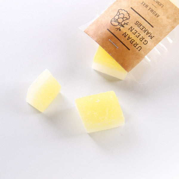 Aroma Wax Chunks - Lemon - URBAN GREEN MAKERS