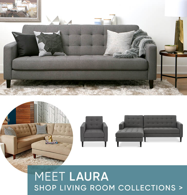 Meet Laura - Shop Living Room Collections