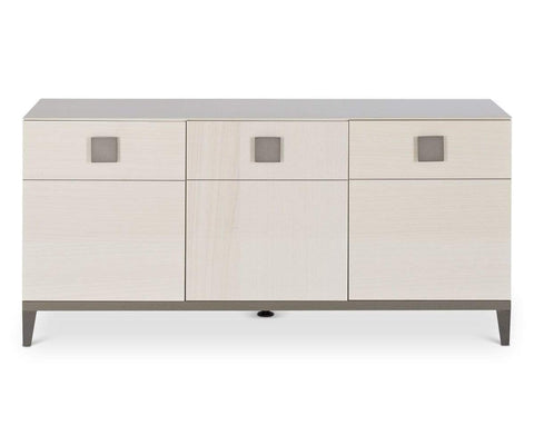 High gloss contemporary sideboard