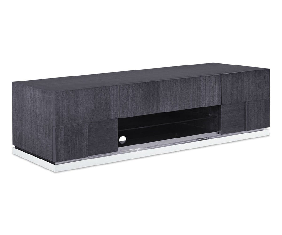 Mondiana Media Stand High Gloss Grey - Scandinavian Designs