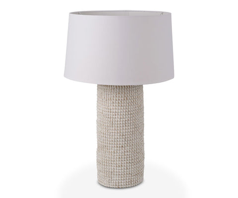 Kare Table Lamp - White