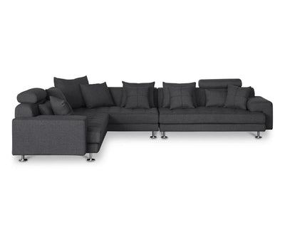 Cepella Right Seated Sectional GREY DORMA-96 - Scandinavian Designs
