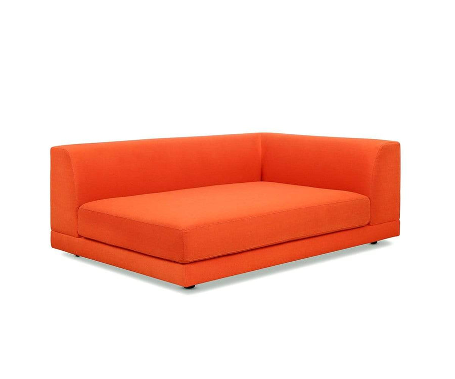 Tysse Right Arm Sofa Orange VLP418-19 - Scandinavian Designs