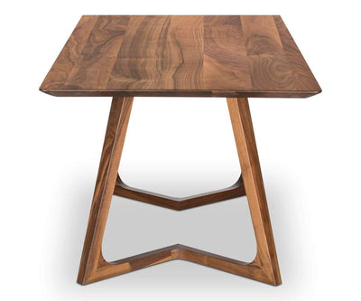 "Cress 71"" Dining Table WALNUT - Scandinavian Designs"