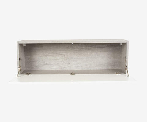 Danne Horizontal Wall Unit Cement/White - Scandinavian Designs