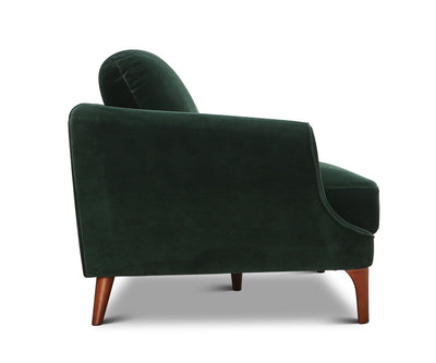 Noella Sofa Dark Forest Green - Scandinavian Designs