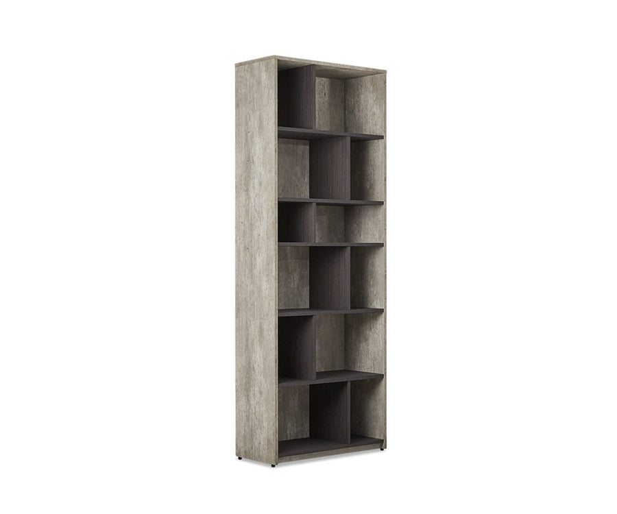 Alva High Bookcase Alva Grey - Scandinavian Designs