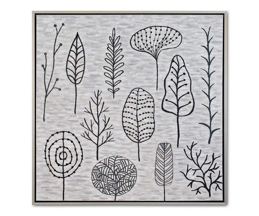 Gartner Landscape Grey/Multi - Scandinavian Designs