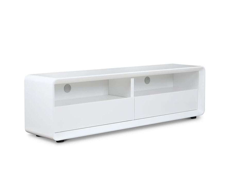 Kopp Media Stand WHITE - Scandinavian Designs